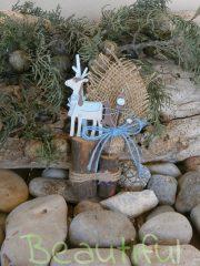 Μπομπονιέρα Βάπτισης. Μπομπονιέρα βάπτισης αγόρι ξύλινο διακοσμητικό δεντράκι αγοράκι χειροποίητο.